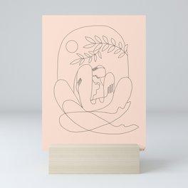 About kaleidoscopes Mini Art Print