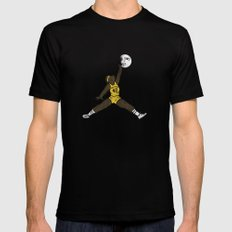 air teen wolf X-LARGE Black Mens Fitted Tee