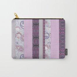 zakiaz French Stripe Lavender Carry-All Pouch