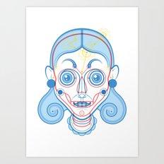 A Rare Girl Art Print