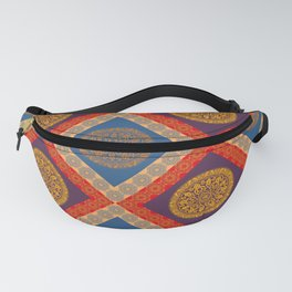 Arabesque Pattern (Decorative Border)  Fanny Pack