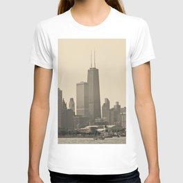 John Hancock Building Downtown Chicago Illinois Color Photo T-shirt