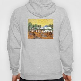 Here Comes the Yellow Sky and Sun Hoody