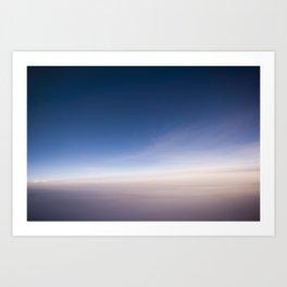 silent morning above Java Art Print