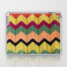 Rainbow Chevron Afghan Laptop & iPad Skin