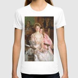"John Singer Sargent  ""Mrs. Fiske Warren (Gretchen Osgood) and Her Daughter Rachel"" T-shirt"