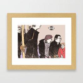 tube life Framed Art Print