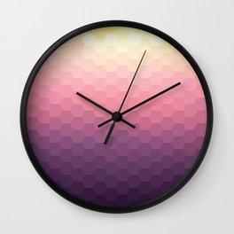 Sundown Honey Wall Clock