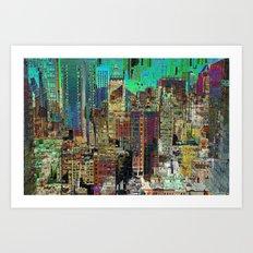 New York 7 Art Print
