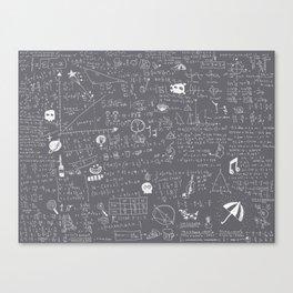 Maths Canvas Print