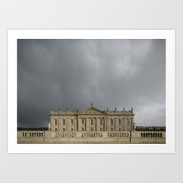 Chatsworth | English Country House Art Print