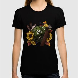 Ranger Class D20 - Tabletop Gaming Dice T-shirt