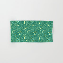 Scattered Critters Pattern Hand & Bath Towel