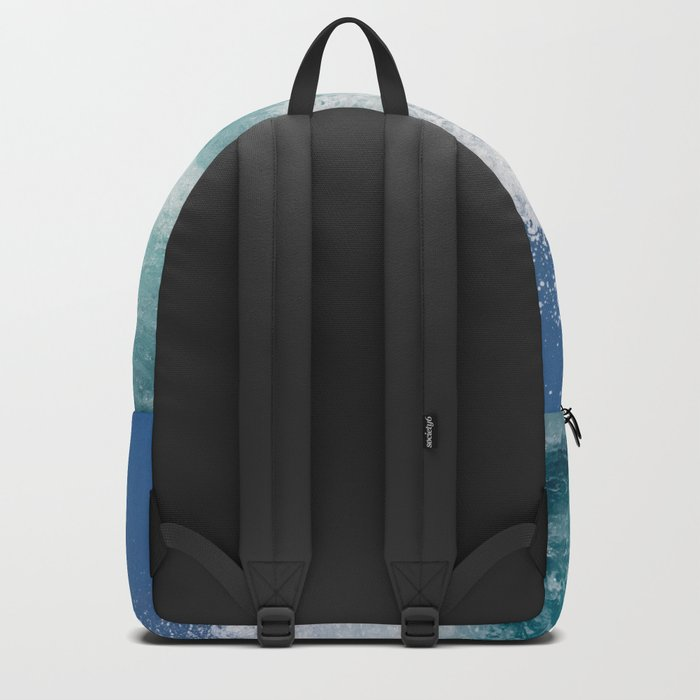 Crashing beautiful waves Backpack