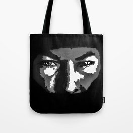 RIP Nicky Hayden 69 - black and white helmet portrait popart Tote Bag
