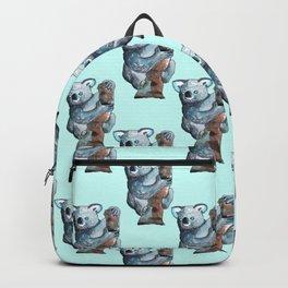 awesome koala pattern Backpack