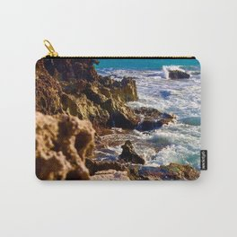 Tides of Cancún Carry-All Pouch