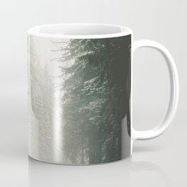 Forest Road In Winter Coffee Mug