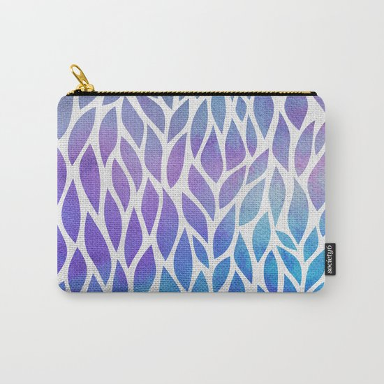 Petals Pattern #1 Carry-All Pouch