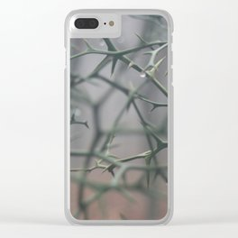 THRNS (color) Clear iPhone Case