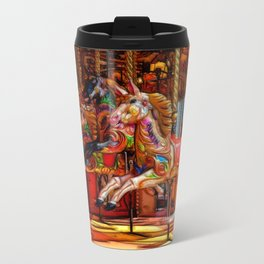 Have a ride on the merry-go-round Travel Mug