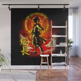 Captain Monkey Wall Mural