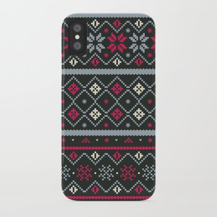 FairIsle iPhone Case