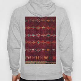 -A8- Colored Traditional Moroccan Carpet Artwork. Hoody