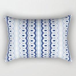 Barnacle Blue Rectangular Pillow