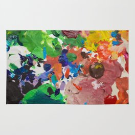 Palette of Colors Rug