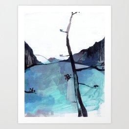 ALASKA SKETCHBOOK Art Print