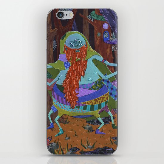 The Spider Wizard iPhone & iPod Skin