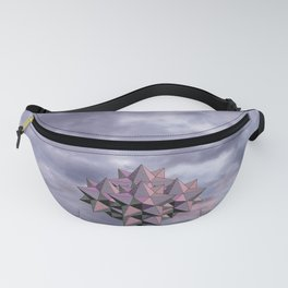 Icosaedron up to Sky   Water from the Sky Fanny Pack
