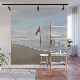 red flag Wall Mural