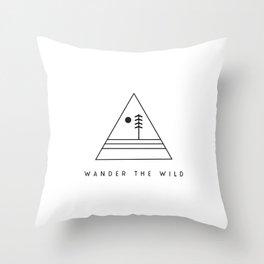 Wander The Wild Throw Pillow