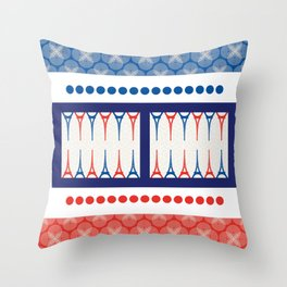 Backgammon – it's a GAME Throw Pillow