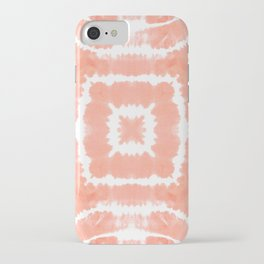 SHIBORI FESTIVAL SUMMER - WILD AND FREE - BLOOMING DAHLIA iPhone Case