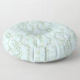 Tiff Blue Lotus Garden Floor Pillow
