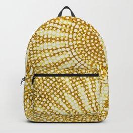 Dotted sunshine mandala Backpack