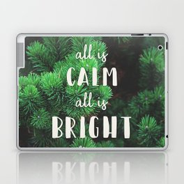 All Is Calm Laptop & iPad Skin