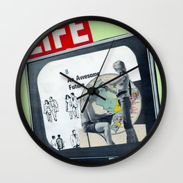 OUR AWESOME FUTURE Wall Clock