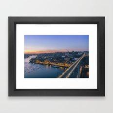 Porto from Serra do Pilar. Framed Art Print