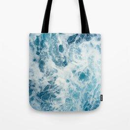 Rough Sea - Ocean Photography Tote Bag