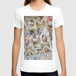 The ceiling of the Sistine Chapel T-shirt