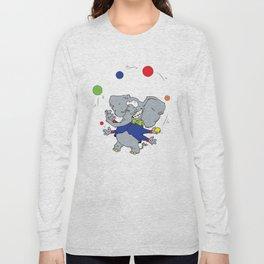 Multi-armed Elephants Never Forget How To Juggle Long Sleeve T-shirt