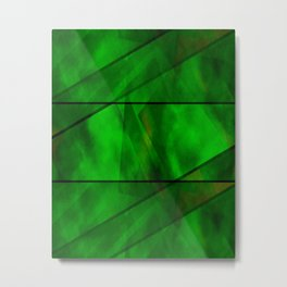 Green With Envy Metal Print