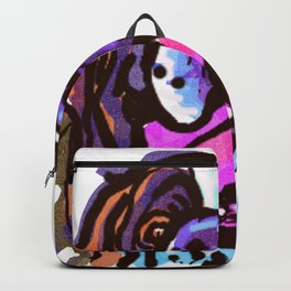 The happy Saint Bernard Love of My Life Backpack
