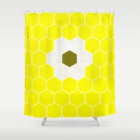 minion Shower Curtains featuring Minion by Alexandre Reis