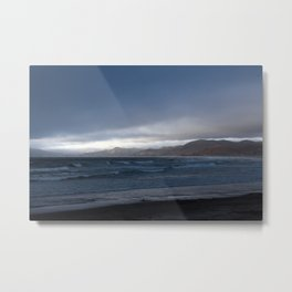 Sunset on Morro Bay Metal Print