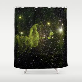 The Spider Nebula Shower Curtain
